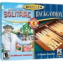 Hoyle South Beach Solitaire + Hoyle Backgammon