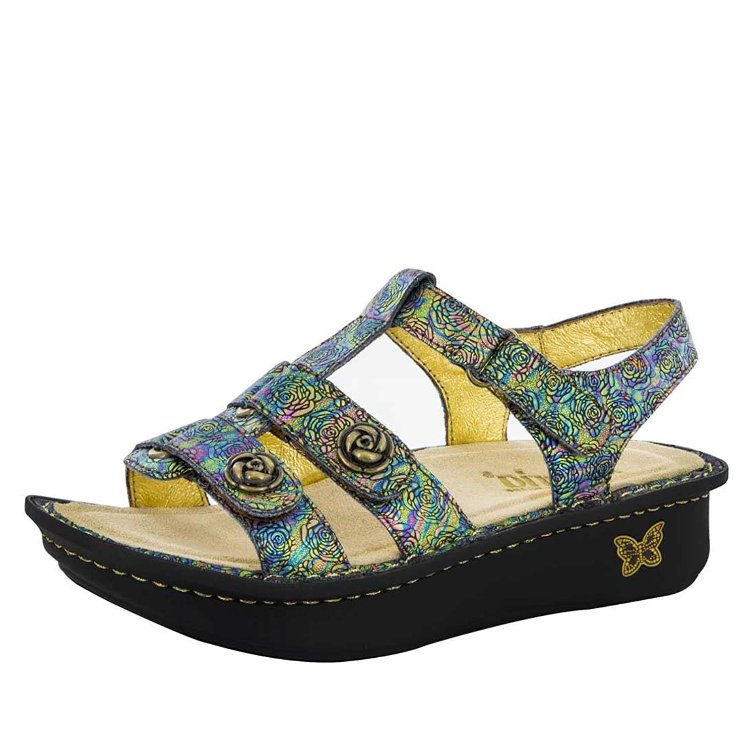 Women's sandals with removable insoles - Alegria Women S Kleo Gladiator Sandal