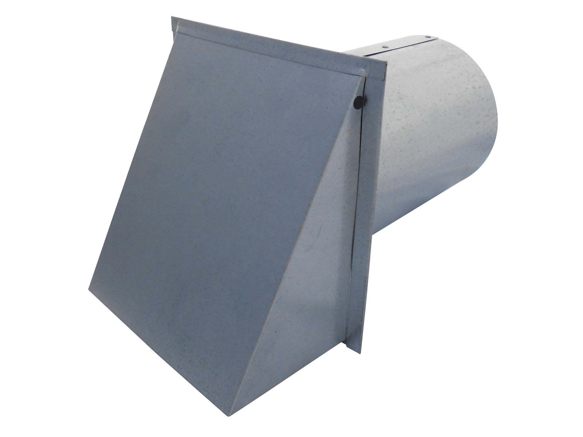 6 Inch Wall Vent Galvanized Damper Only (6 Inch Diameter) - Vent Works