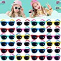Neon Sunglasses For Kids Boys And Girls Kids Sunglasses Party Favors In Bulk Summer Beach Pool Party Favors Fun Gifts Party Toys Goody Bag Stuffers Gift For Birthday Party Supplies