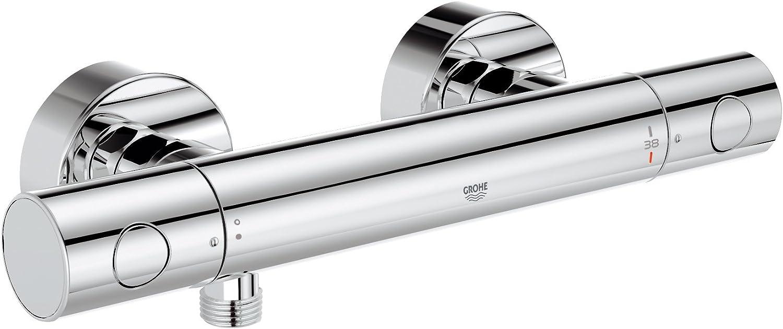 Grohe Grohtherm - Termostato de ducha Ref. 34065000: Amazon.es ...