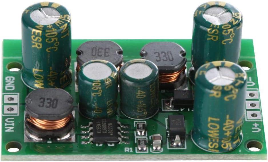 Output voltage /±5VDC, Salida de Convertidor Boost-Buck de Voltaje Positivo y Negativo DC-DC /± 5V 6V 9V 10V 12V 15V 18V 24V