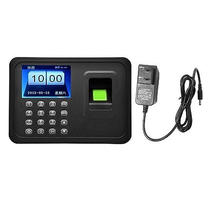 Lector biométrico del Reloj de Tiempo de la Huella Dactilar del Registrador de la máquina de