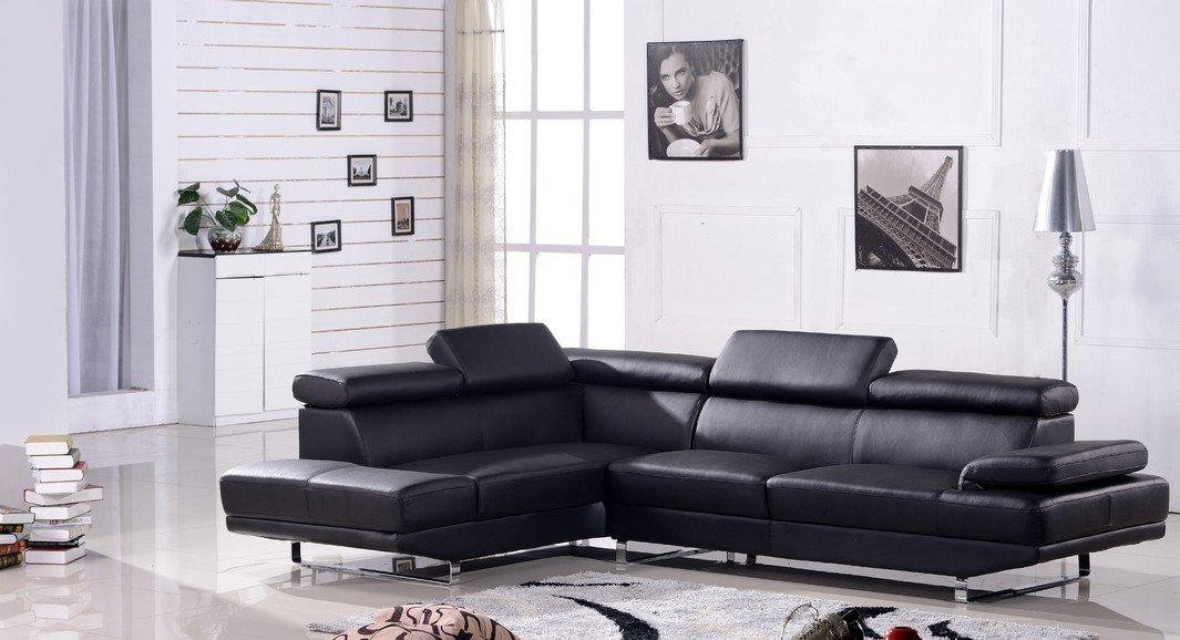 Ledergarnitur Ledersofa Voll-Leder Ecksofa Sofa Garnitur Couch Eckgruppe 2020-LS