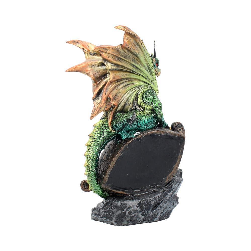 Nemesis Now Figurine Oeil du Dragon Vert 25 cm Taille 17 cm