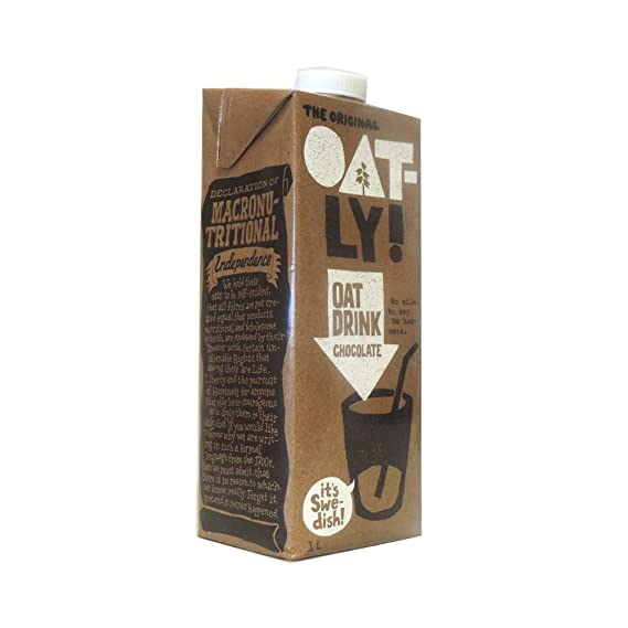Oatly - Chocolate Oat Drink - 1L (Case of 6)