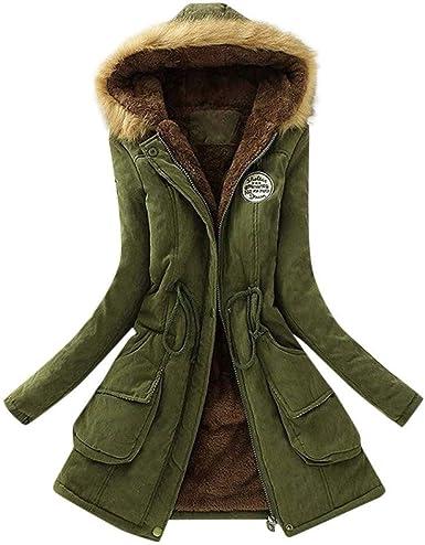 Aojian Coat Women Plus Size Winter Warm Hooded Jacket Thicken Hood Outwear Coats At Amazon Women S Coats Shop