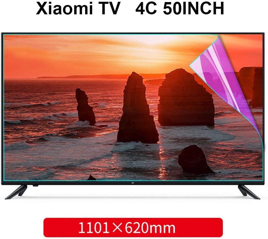 Antideslumbrante De La Pantalla De TV Protector para Xiaomi 50 Pulgadas - Anti Azul Claro/Rasguño Anti Cine, Mate Filtro, Bloque Nocivo Blue-Ray Y Proteja Sus Ojos,4C: Amazon.es: Hogar