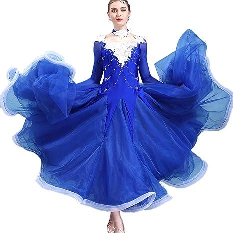 nuovo stile b12b6 7932e MoLiYanZi Elegante Vestiti da Ballo delle Prestazioni Sala ...
