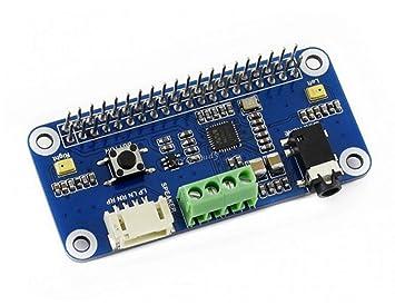 Amazon Com Wm8960 Hi Fi Sound Card Audio Hat Stereo Codec Encoding