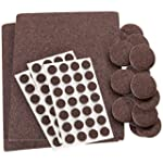 Self-Stick, Heavy Duty Felt Pads Valu...