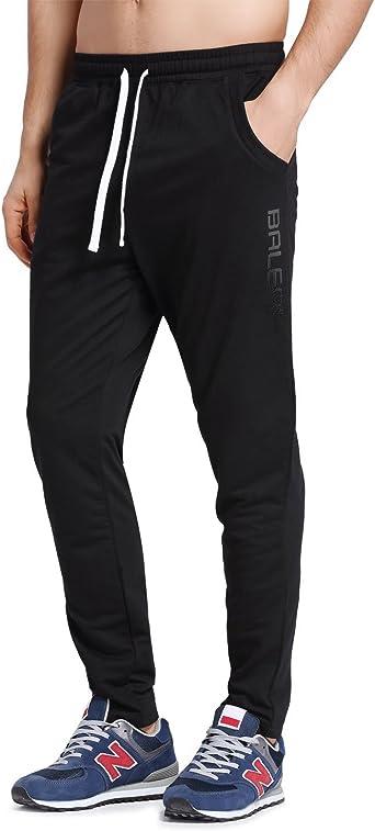 Amazon.com : BALEAF Men's Tapered Athletic Running Pants Joggers Lounge  Workout Sweatpants : Clothing