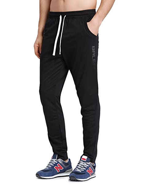 1435f23bed09 Amazon.com  Baleaf Men s Tapered Athletic Running Pants  Sports ...