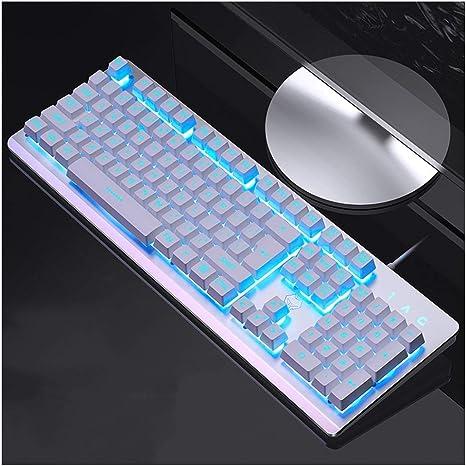 Teclado óptico multimedia, teclado de membrana retroiluminado ...