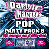 Party Tyme Karaoke - Pop Party Pack 6 [4 CD][64-Song Party Pack]