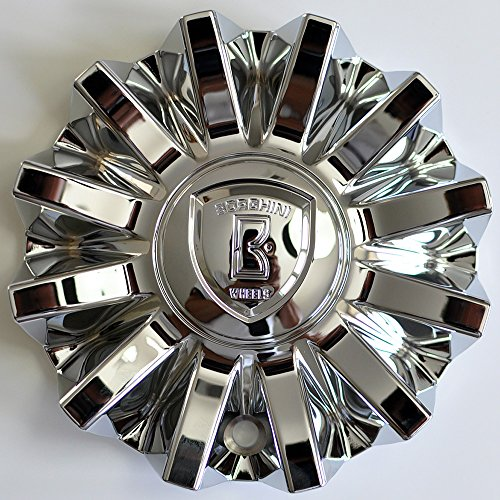 (Borghini Wheels Chrome Wheel Rim Center Cap CS420-E6P)