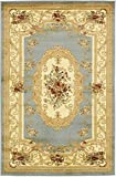 Persian Traditional Design rugs, Light Blue 4' x 6' - Feet Tiba Collection Area rug - Perfect for any Room, Floor Carpet