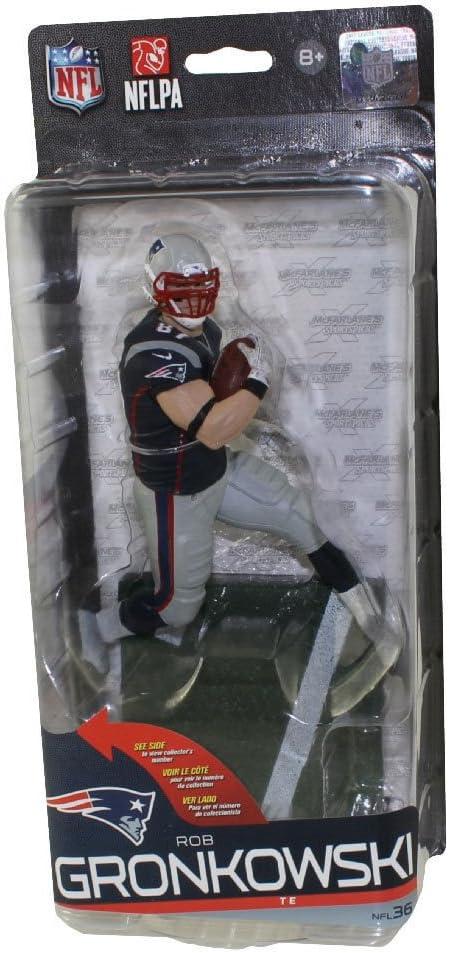 Bleu Jersey McFarlane NFL 36 ROB GRONKOWSKI New England Patriots