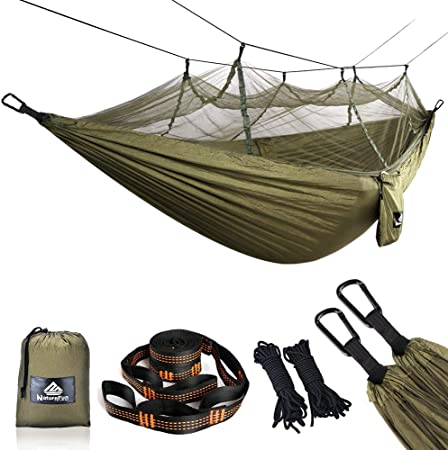 Camping Hamac Jardin Hamac Ultralight Nylon Léger 2 X Suspension Sangles