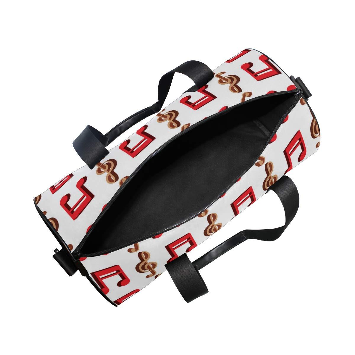 Metal Music ImageWaterproof Non-Slip Wearable Crossbody Bag fitness bag Shoulder Bag