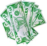 us 1000 bill - Novelty Play Phoney 1000 Pack Money Fake $10 Dollar Bills