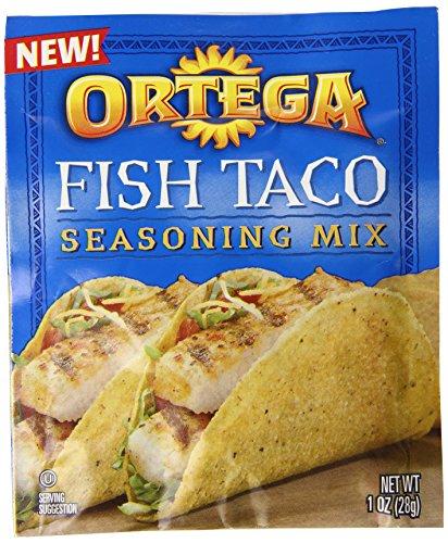 Fish Tacos (Ortega Fish Taco Seasoning Mix, 1 Ounce (Pack of)