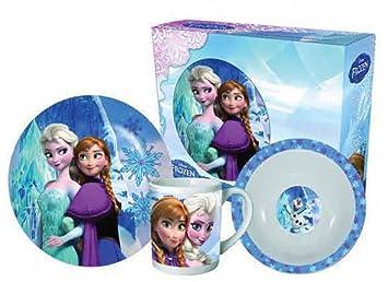 Set desayuno Frozen Disney ceramica
