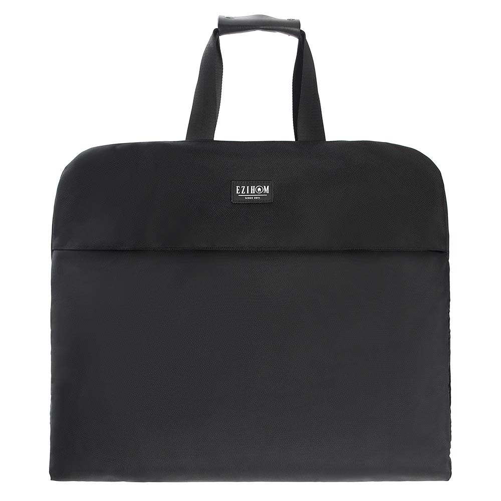 Ezihom Suit Foldable Carry on Garment Bag for Travel and Business Trip with Shoulder Strap