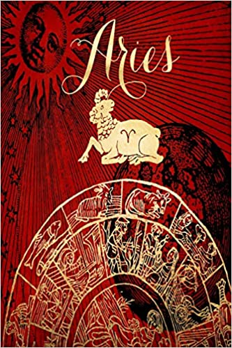 2019 Daily Planner Aries Symbol Astrology Wheel Zodiac Sign