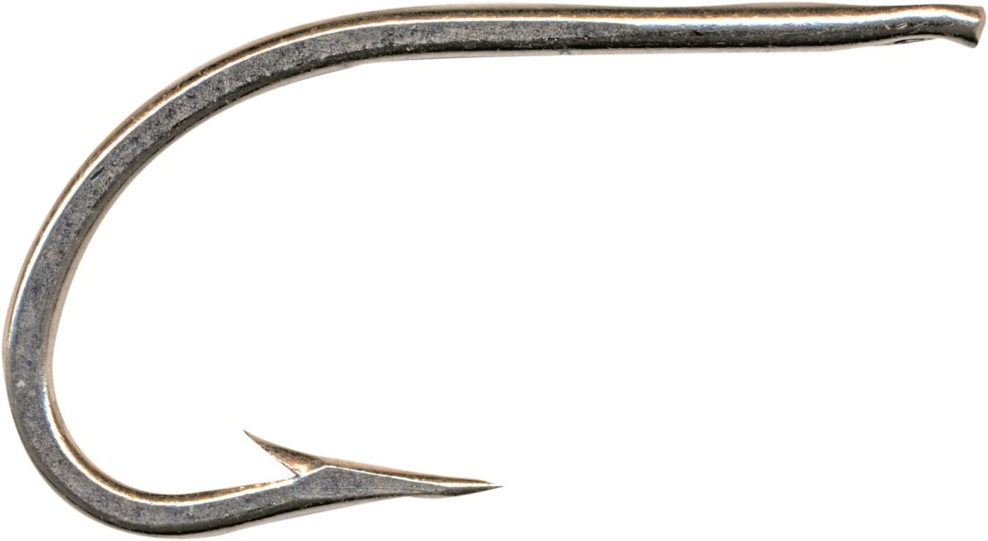 Mustad 3412DT Classic O'Shaugnessy Forged Needle Eye Duratin Hook (100-Pack)