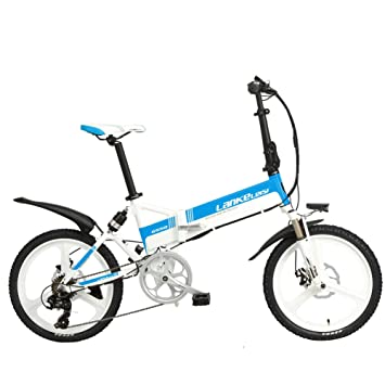 9fc9a6b7438659 Extrbici G550 Elektrische Fahrrad Falt faltbar eBike 240 W 48 V 10 AH  Panasonic Lithium-