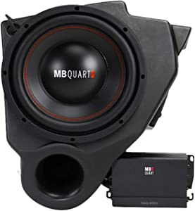 "MB Quart 400 Watt 10"" Under-Dash Subwoofer+Amplifier For Select Polaris RZR ATV"