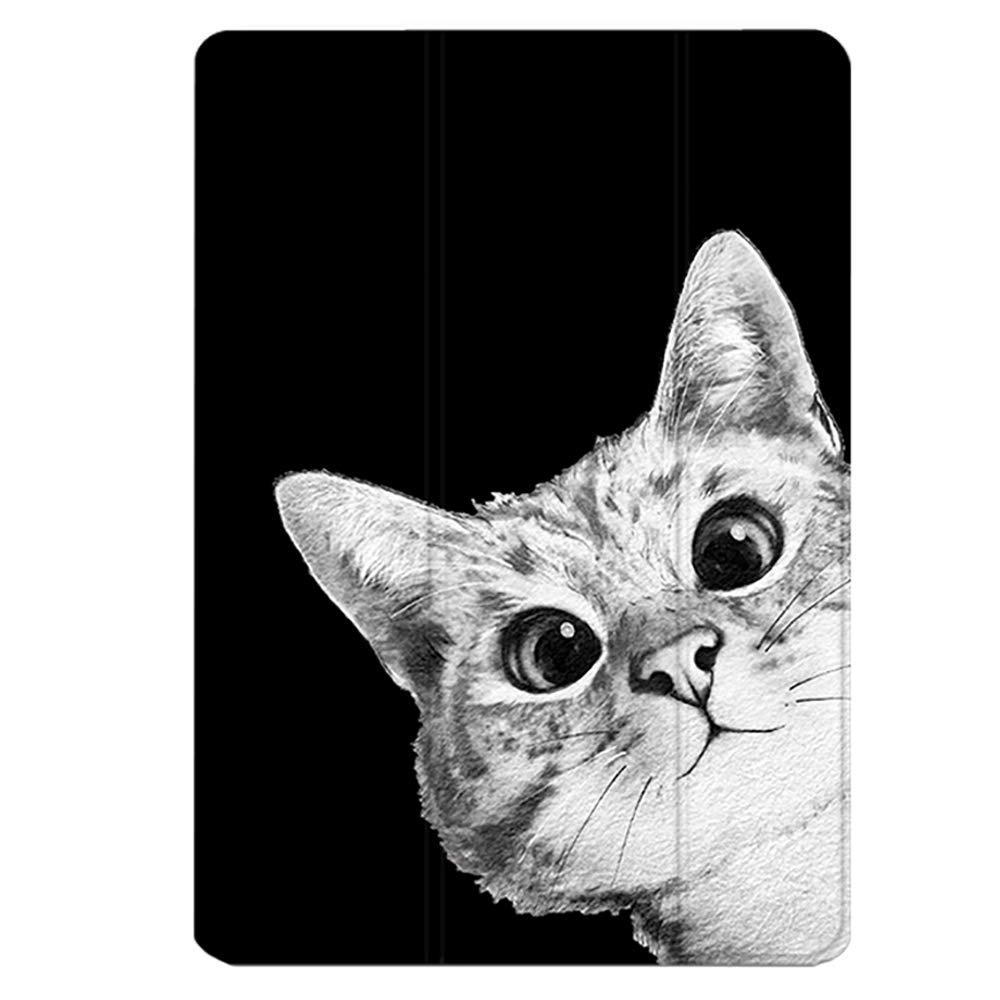 Funda para iPad Pro 11 Pulgadas Lanzamiento 2018, Piel de imitación Liviana Funda de Silicona Elegante Funda Posterior de Encendido/suspensión automático para Apple iPad Pro 11'2018, Negro