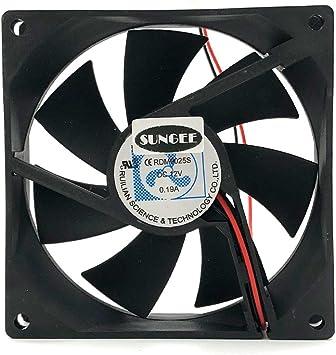 RDM9025S 12V 0.19A 9CM 9025 2-Line frigorífico Ventilador de ...