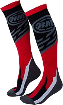 Fly Racing MX Youth Socks Thick Red//Black Red, X-Small