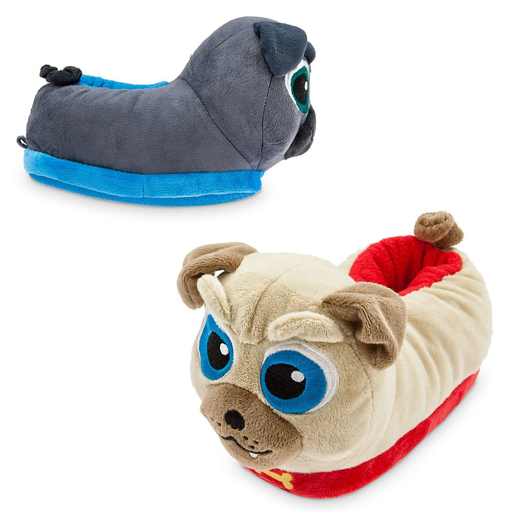 Disney Bingo and Rolly Slippers for Kids - Puppy Dog Pals Size 9/10