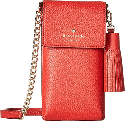 Kate Spade New York Women's North/South Crossbody Phone Case for iPhone 6, 6s, 7, 8 Red Carpet One Size by Kate Spade New York