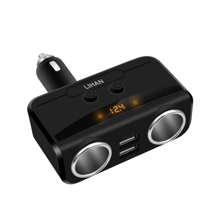 Cargador para Auto USB LIHAN (7D6N23FV)