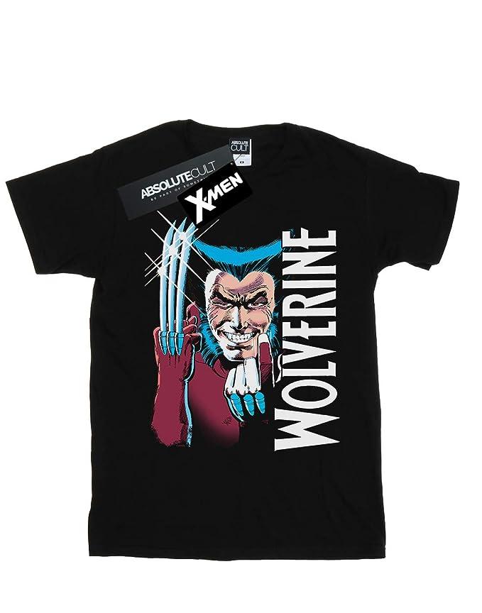Marvel Niñas X-Men Wolverine Come Here Camiseta: Amazon.es: Ropa y accesorios