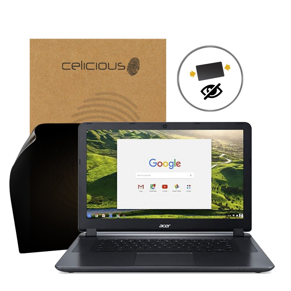 Celicious Privacy 2-Way Anti-Spy Filter Screen Protector Film Compatible with Acer Chromebook 15 CB3-532