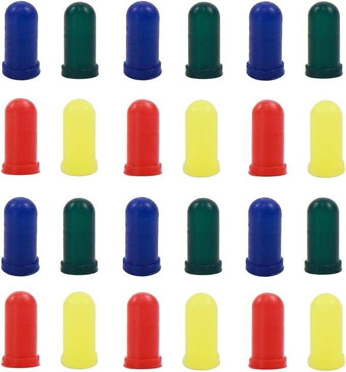 100Pcs//Bag 3mm LED Light Bulb Emitting Diode White Green Red Blue Yellow/<i
