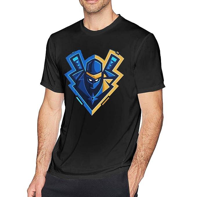 Eshanqulon Ninja YouTube Mens Fashion T-Shirt   Amazon.com