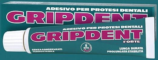 4 opinioni per Gripdent Forte Crema Super Adesiva per Dentiere 40g