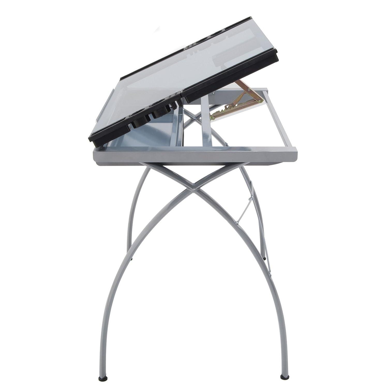 Amazon.com: Studio Designs 10050 Futura Craft Station, Silver/Blue Glass:  Arts, Crafts U0026 Sewing Good Ideas