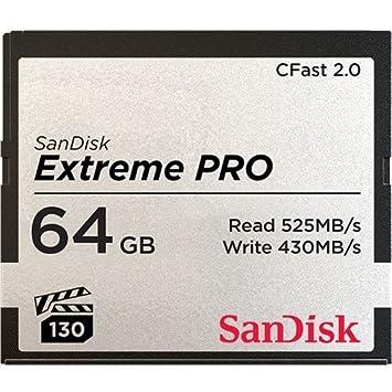 Sandisk Extreme Pro CFast 2.0 Memoria Flash 64 GB - Tarjeta ...