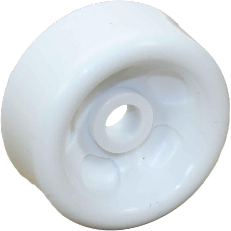 GE WD12X10262 Dishwasher Dishrack Roller, Lower Genuine Original Equipment Manufacturer (OEM) Part