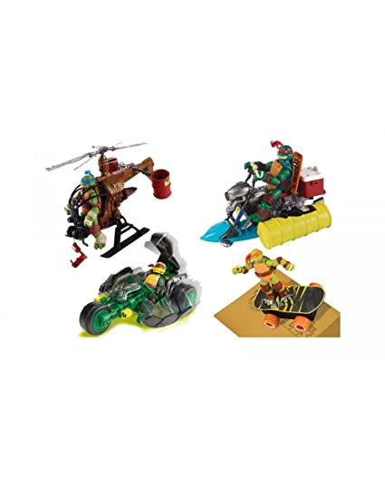 Amazon.com: Teenage Mutant Ninja Turtles – Vehicle TMX Cycle ...
