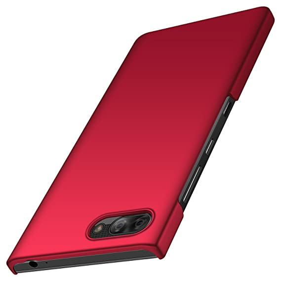 size 40 0e05f e5704 anccer Colorful Series for BlackBerry Key2 LE Case Ultra-Thin Fit Premium  PC Material Slim Cover for BlackBerry Key2 LE (Red)