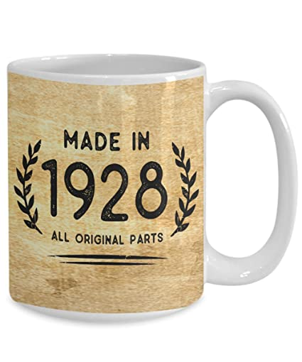 Perfect 1928 Mugs 90th Birthday Gifts