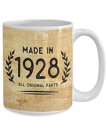 Amazon Perfect 1928 Mugs 90th Birthday Gifts